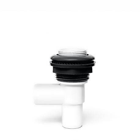Regulátor vody ON-OFF pro vířivku - 77 mm - NEREZ Kulatý