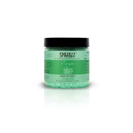 Aroma vůně pro SPA a vířivky Crystals Zelený čaj Pivoňka (113g)