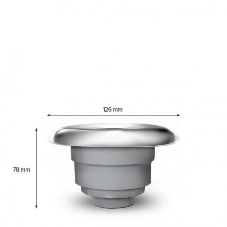 TYPHOON SWIM 126 mm/ 5″ Plavecká protiproudová tryska do Swim Spa – SAMOSTATNÁ