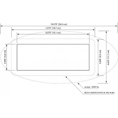 Ovládací panel pro vířivku - VL802D Deluxe