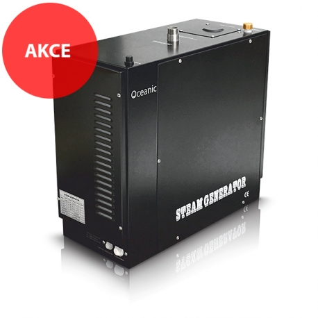 Oceanic parní generátor – Vyvíječ páry pro sauny 3kW – OC30B