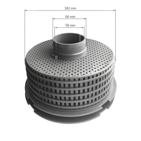 Plovák na skimmer - filtrační koš