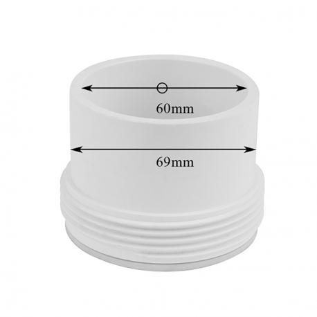 Připojovací prvek k topení BALBOA – Průměr 60 mm