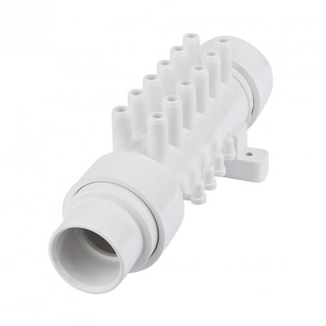 Vodní či vzduchový rozdělovač na hadici – A120PB