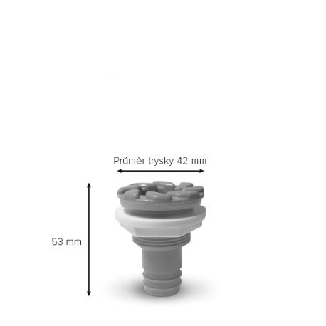 Cirkulační tryska - Průměr 42mm