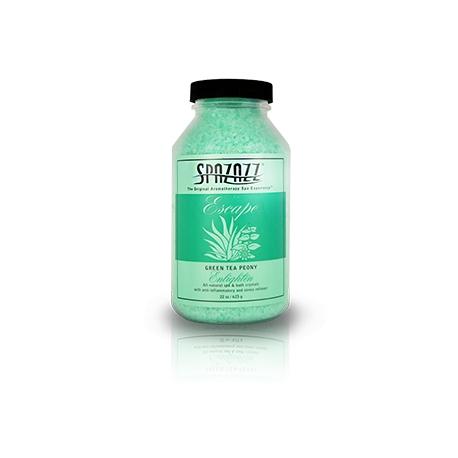 Aroma vůně pro SPA a vířivky Crystal Zelený čaj Pivoňka (623g)
