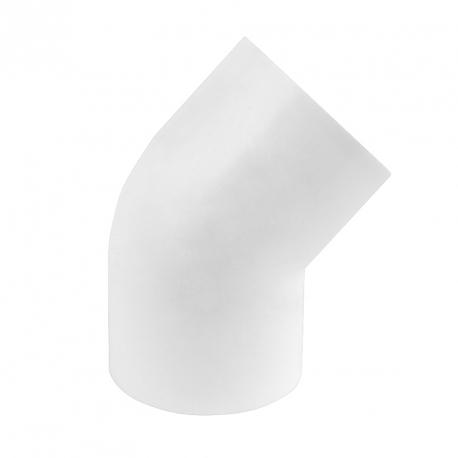 Koleno 45° k nalepení na hadici (Ø 48mm)