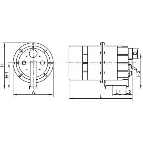 LX Kompresor 900W pro vířivky – APR900W
