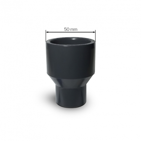 Redukce dlouhá D 50-25 PVC
