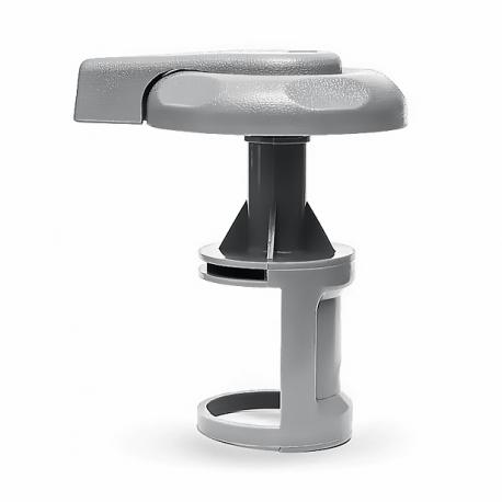 Trojcestný ventil velký pro vířivku - 95 mm - PLAST