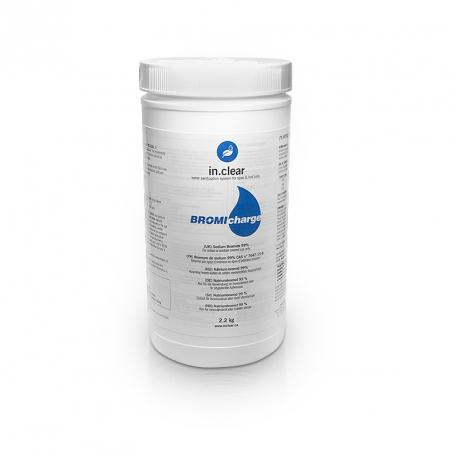 GECKO Náplň do dávkovače IN.CLEAR - 2.2 Kg BromiCharge